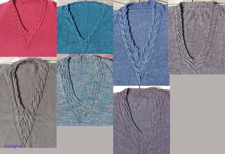 stricknetz ausschnittvarianten f r rvo rund um die themen stricken maschinestricken. Black Bedroom Furniture Sets. Home Design Ideas
